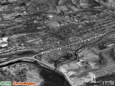 Palmerton satellite photo by USGS