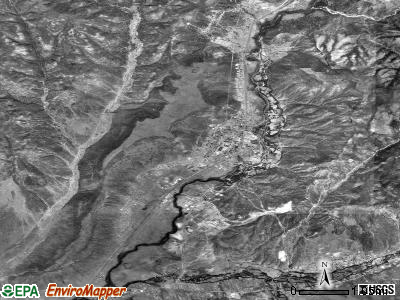 Whiteriver satellite photo by USGS
