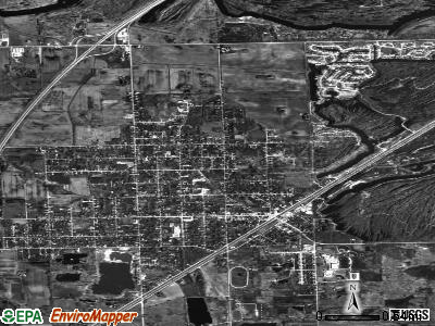 Braidwood satellite photo by USGS