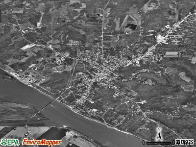 Chester satellite photo by USGS