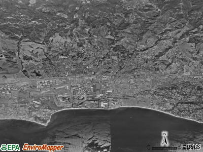 Goleta satellite photo by USGS