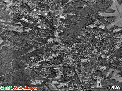 Walterboro satellite photo by USGS