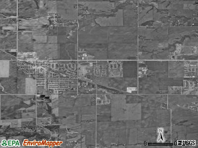 Waukee satellite photo by USGS