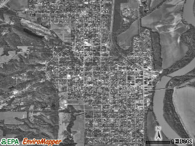 Clarks Summit satellite photo by USGS