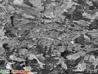 Bessemer City satellite photo by USGS
