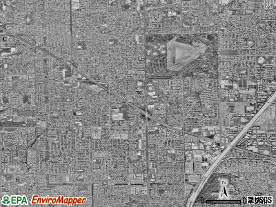 Fountain Valley satellite photo by USGS
