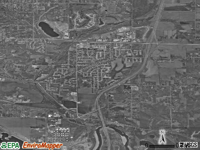 Pleasant Hill satellite photo by USGS