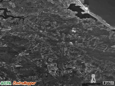 North Scituate satellite photo by USGS