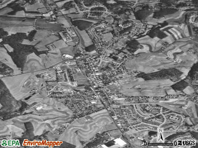 Hampstead satellite photo by USGS