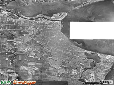 Corpus Christi satellite photo by USGS