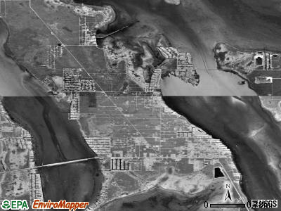 Big Pine Key satellite photo by USGS