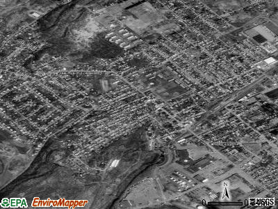 Clementon satellite photo by USGS