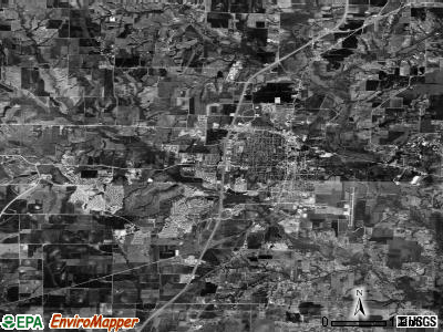 McKinney satellite photo by USGS