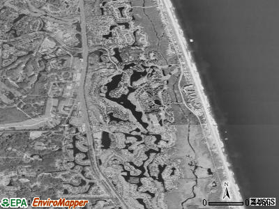 Sawgrass satellite photo by USGS