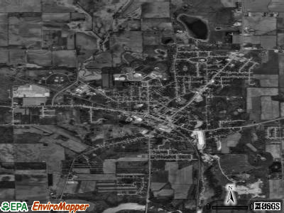 Edgerton satellite photo by USGS