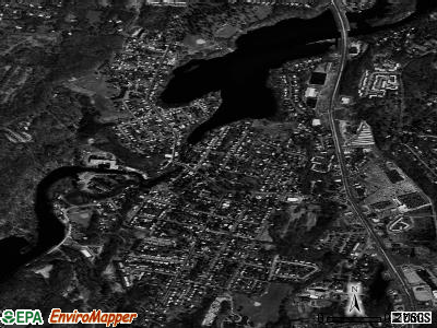 Wappingers Falls satellite photo by USGS