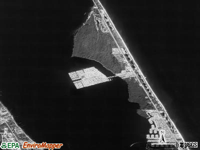 Hutchinson Island South satellite photo by USGS