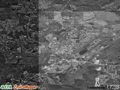 Montevallo satellite photo by USGS
