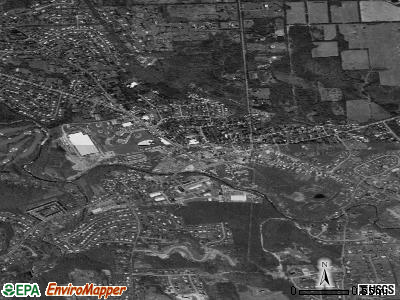 Rathdrum satellite photo by USGS