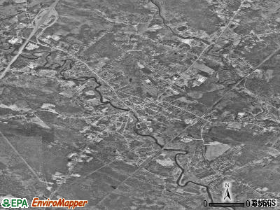 Kennebunk satellite photo by USGS