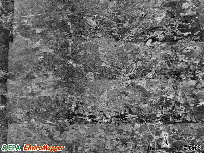 Raleigh satellite photo by USGS