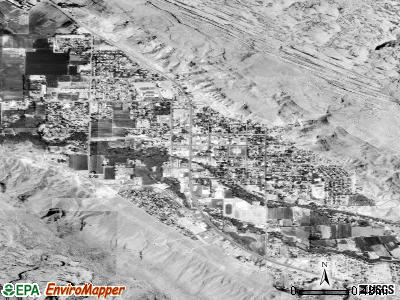 Moab satellite photo by USGS