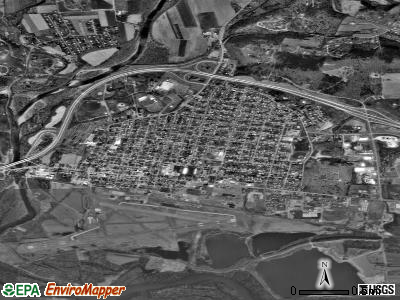 Montoursville satellite photo by USGS