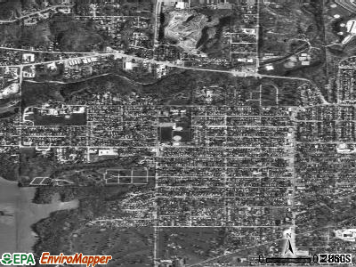 West Peoria satellite photo by USGS
