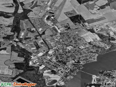 Chestertown satellite photo by USGS