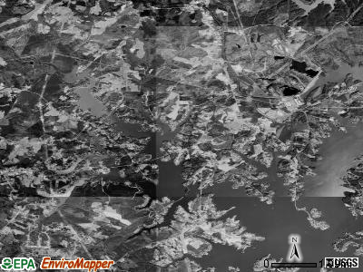 Lake Norman of Catawba satellite photo by USGS