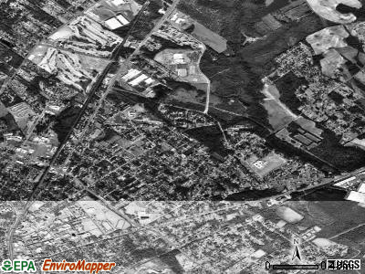 Brookdale satellite photo by USGS