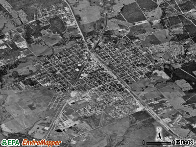 Hearne satellite photo by USGS