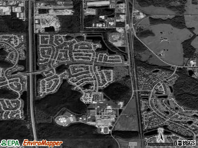Southchase satellite photo by USGS