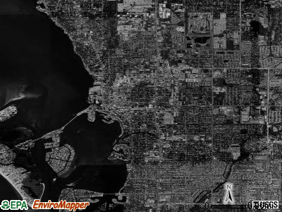 Sarasota satellite photo by USGS