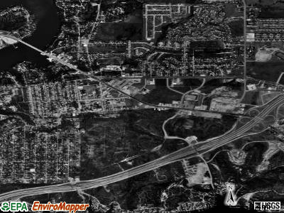 Lake Worth satellite photo by USGS