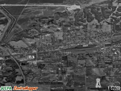 Scott City satellite photo by USGS