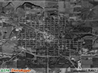 Chariton satellite photo by USGS