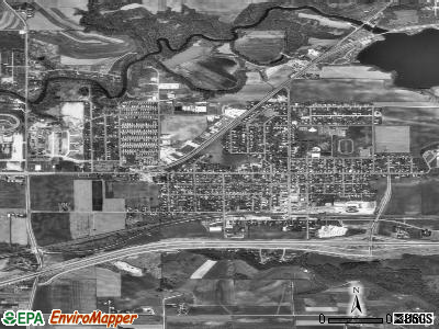 West Salem satellite photo by USGS