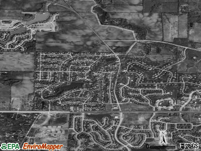 Grandwood Park satellite photo by USGS