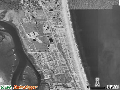 Butler Beach satellite photo by USGS