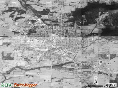 Berryville satellite photo by USGS
