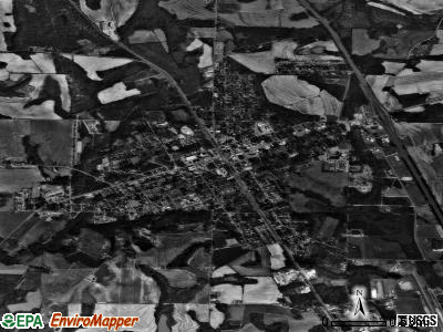 Ashburn satellite photo by USGS
