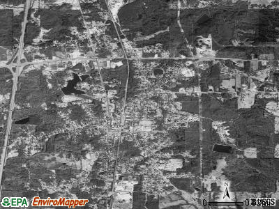 Hazlehurst satellite photo by USGS