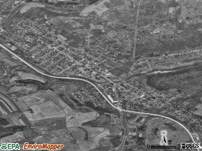 Windber satellite photo by USGS