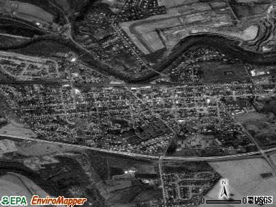 Hummelstown satellite photo by USGS