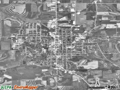 Viroqua satellite photo by USGS