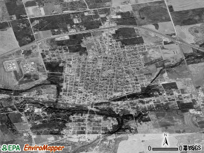Colorado City satellite photo by USGS