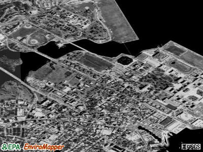 Naval Academy satellite photo by USGS