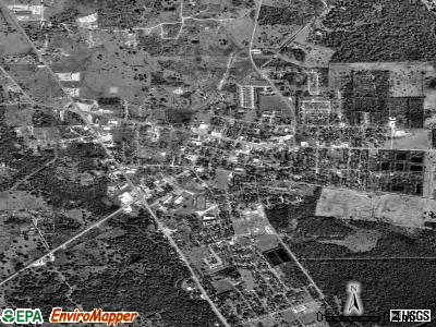 West Columbia satellite photo by USGS
