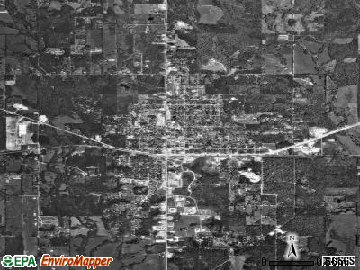Broken Bow satellite photo by USGS